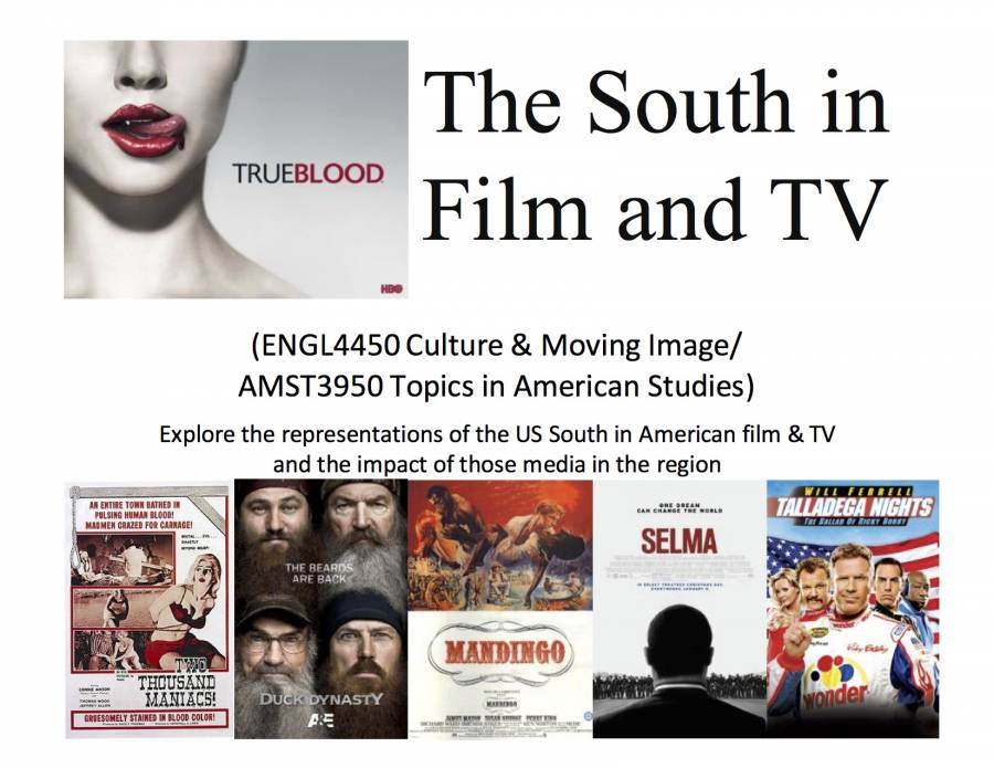 AMST3950-ENGL4450 The South in Film and TV